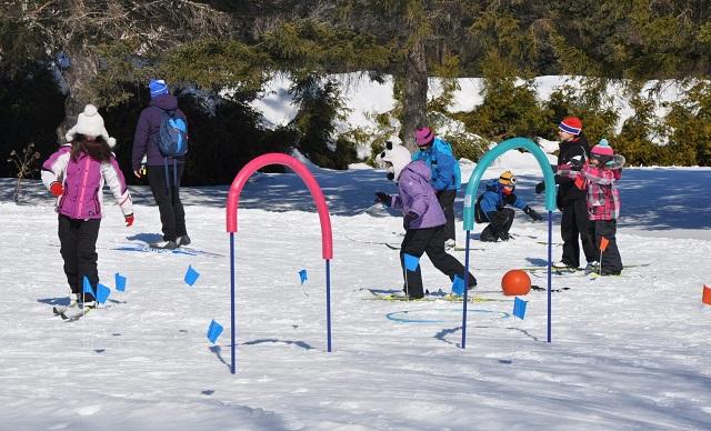 Ski-mobile et INISKI :  pour apprendre le ski de fond!
