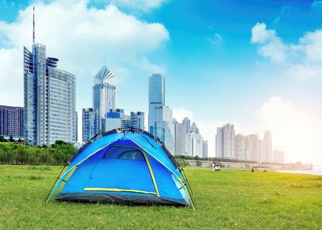 Camping urbain: 5 endroits où camper en pleine ville