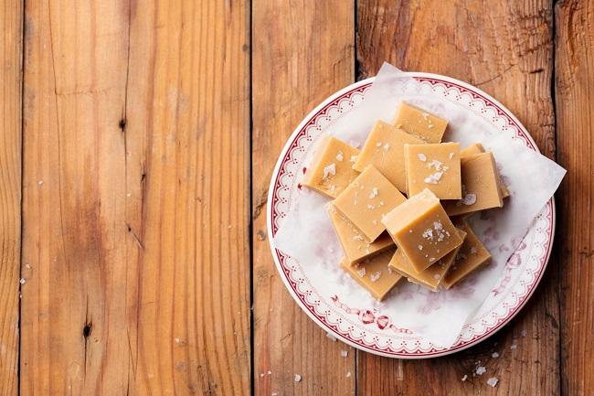 Fudge à l'érable et au beurre d'arachides
