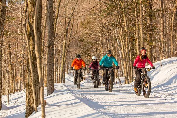 8 endroits où faire du fatbike dans les parcs nationaux