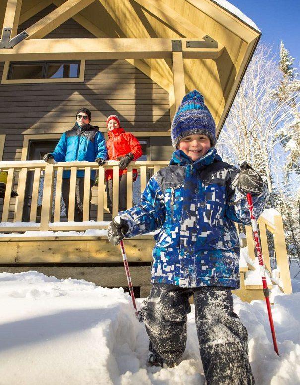 5 escapades hivernales en chalet dans les parcs nationaux du Québec