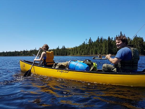 Canot-camping : récit d'un voyage de 3 jours dans le parc national du Mont-Tremblant