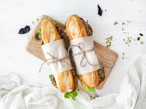 38 idées de sandwichs santé pour les lunchs