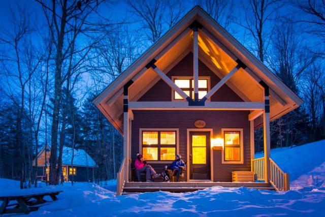 Les 6 plus beaux chalets à louer cet hiver dans les parcs nationaux