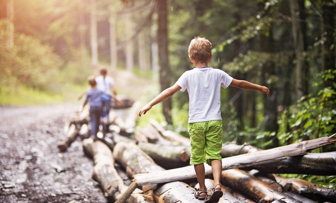 5 façons d'amener les enfants à aimer la nature