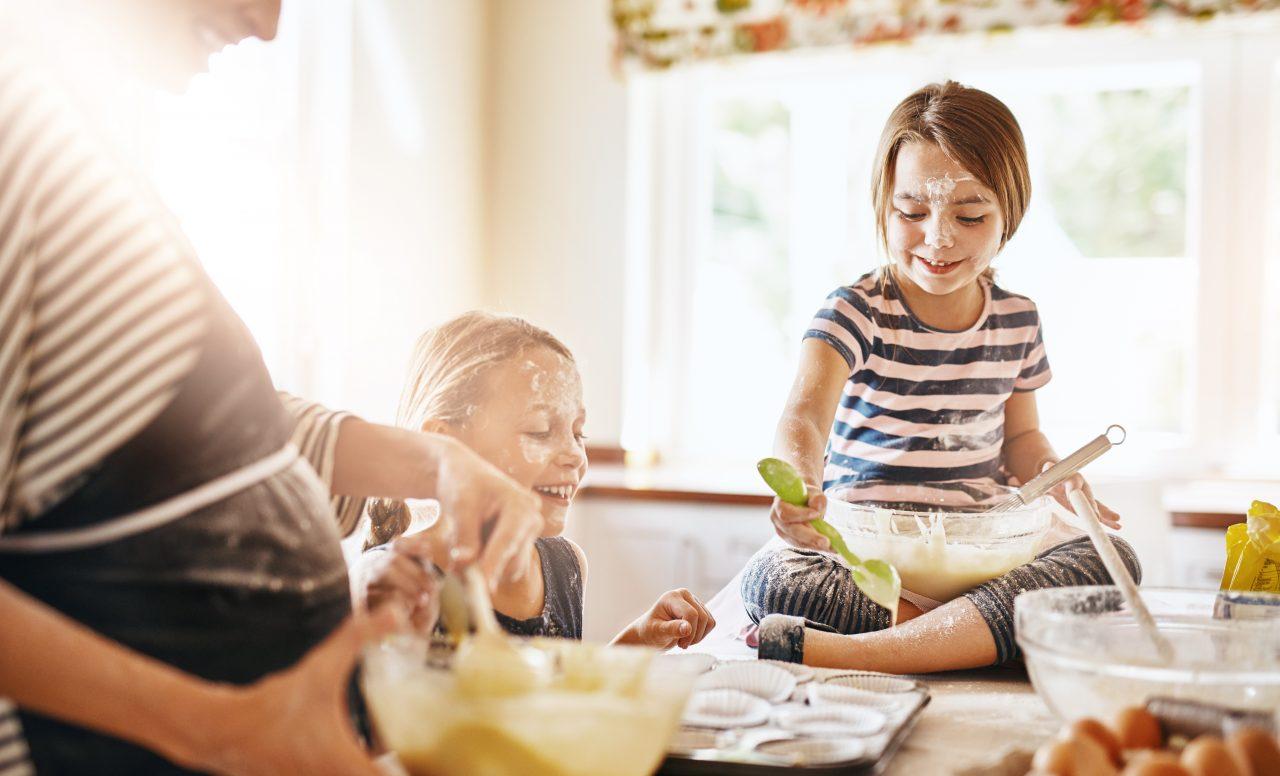 8 recettes à faire avec les enfants