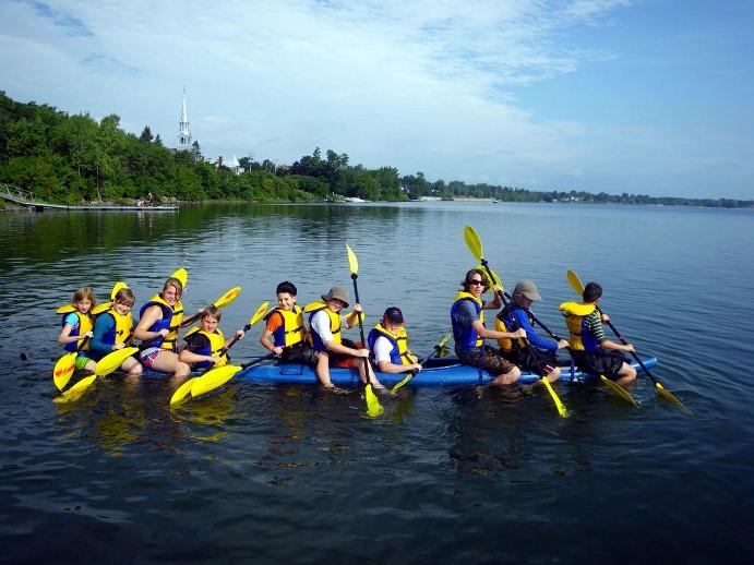 10 beaux endroits où faire du kayak en famille
