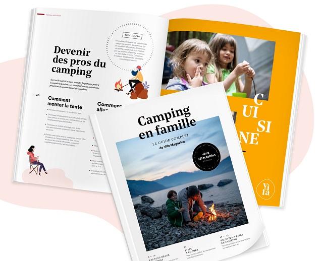 Camping en famille: un guide complet à télécharger gratuitement