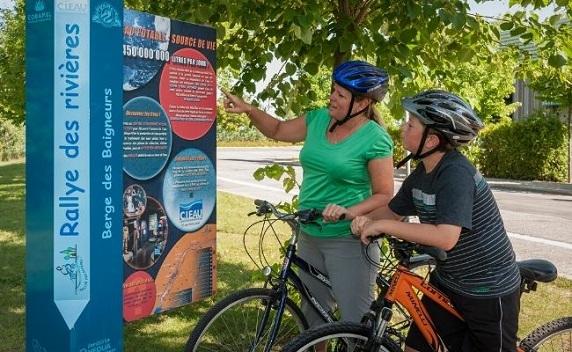 Rallye des rivières du Centre d'interprétation de l'eau de Laval
