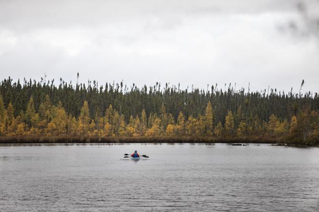 kayak au Centre de villégiature Marina Chibougamau