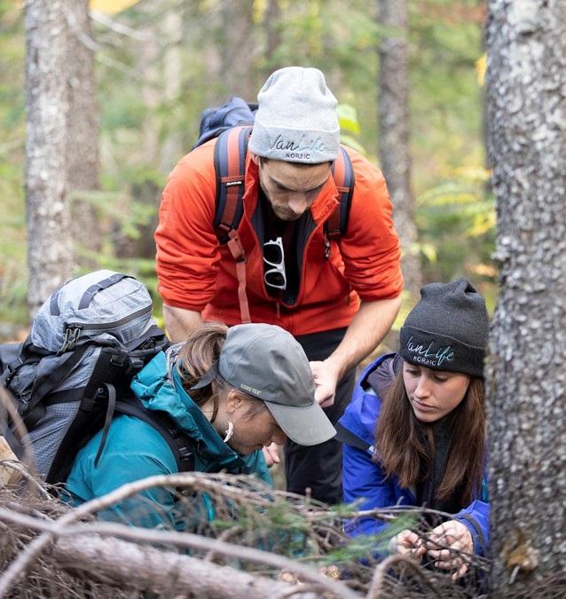 Sortie en forêt avec FaunENord