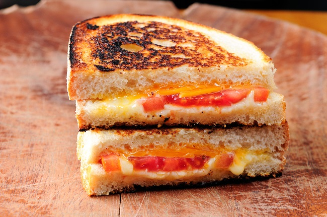 Grilled-cheese nutritif