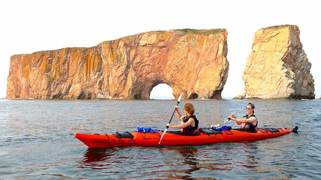 jouer les découvreurs en kayak