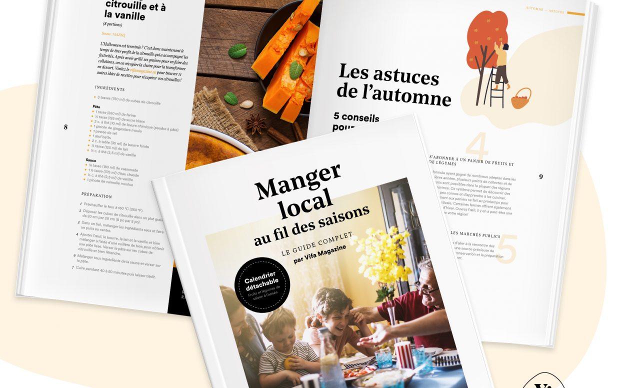 Manger local toute l'année: un guide complet à télécharger gratuitement