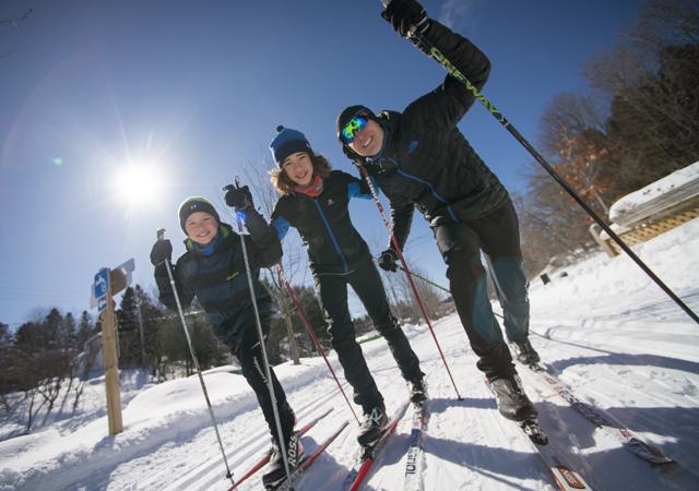 Journée de ski de fond
