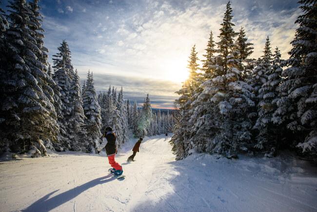 snowboard au Saguenay-Lac-St-jean