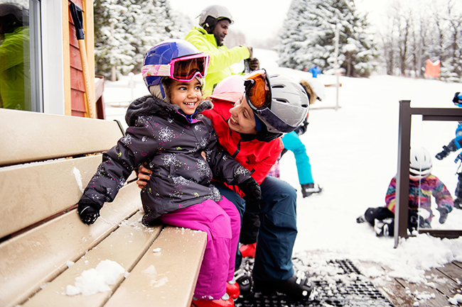 Activité de ski-monteregie