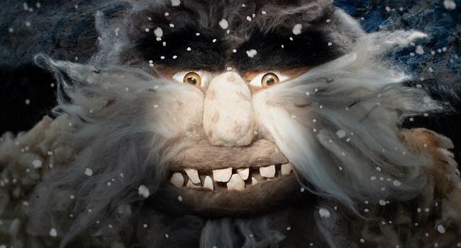 Marionnette en hiver