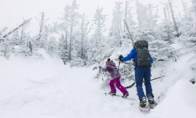plein air famille hiver