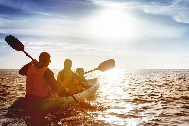 9 beaux endroits où faire du kayak en famille
