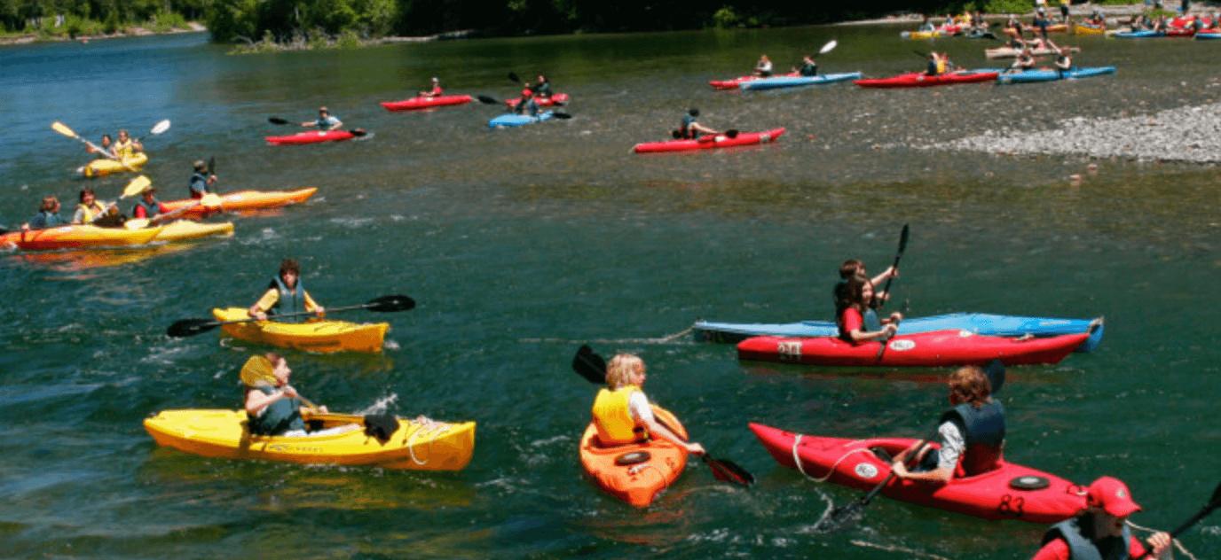 kayak famille riviere bonnaventure