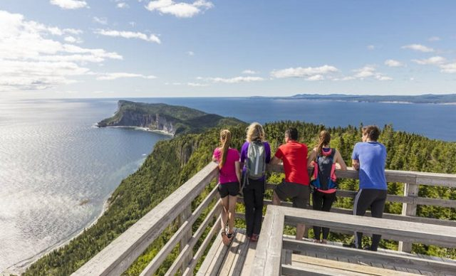 Vacances en Gaspésie - Parc Forillon