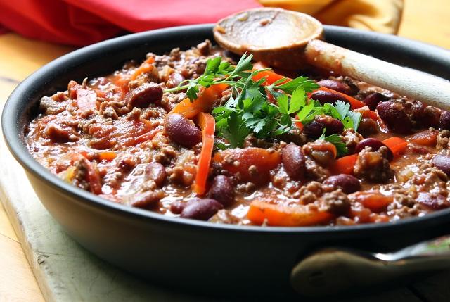 Chili casserole mexicaine de Catherine Naulleau
