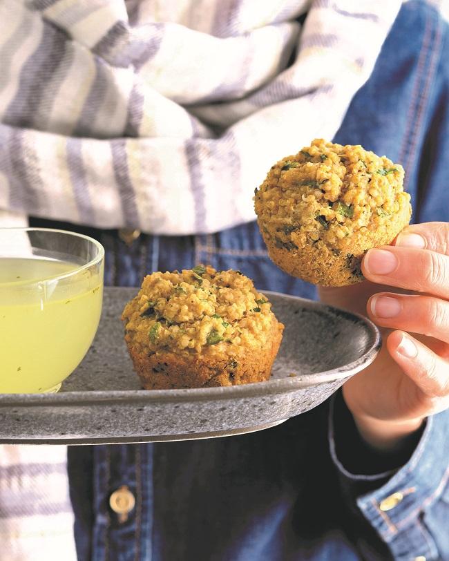 Muffins Bouillon de poulet pour l'âme (Fines herbes et bouillon de poulet)