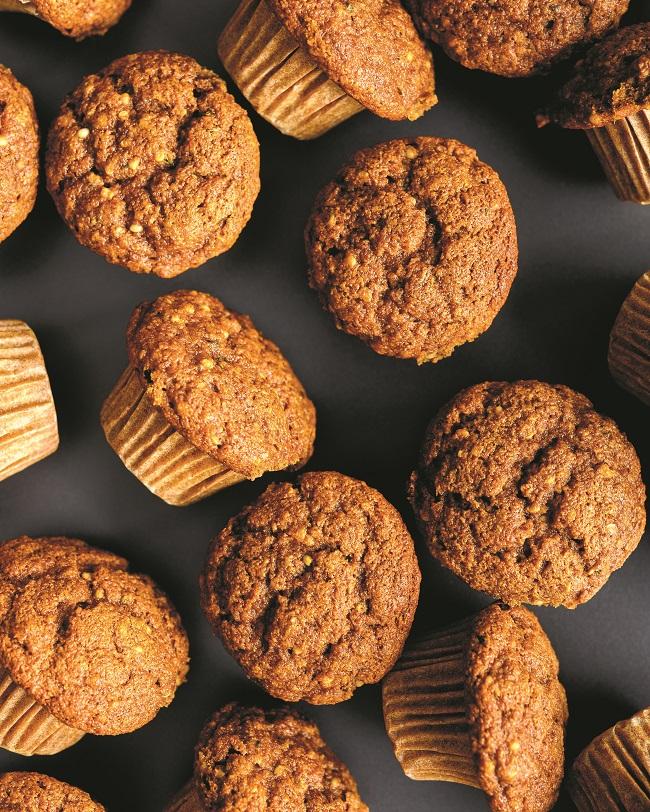 Muffins Tit'ours (comme une galette à la mélasse)