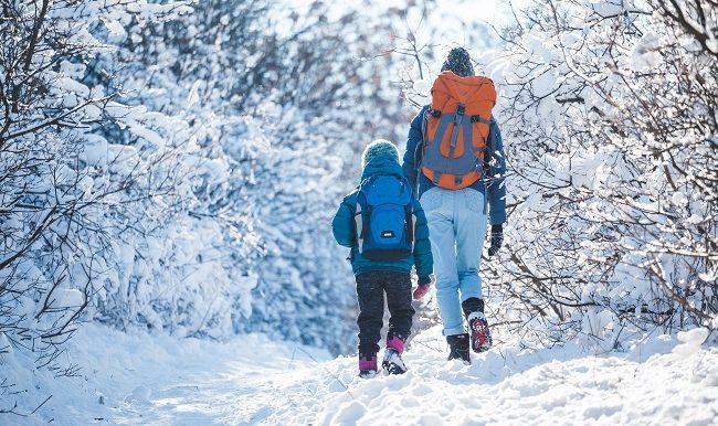 Marche et randonnée en hiver comment réussir vos sorties en famille