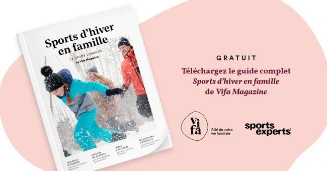 Guide complet Sports en famille de Vifa Magazine