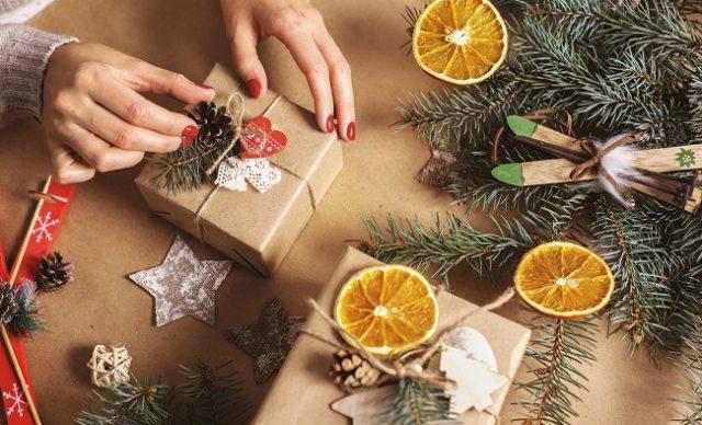 idées d'emballages cadeaux écolo pour Noël