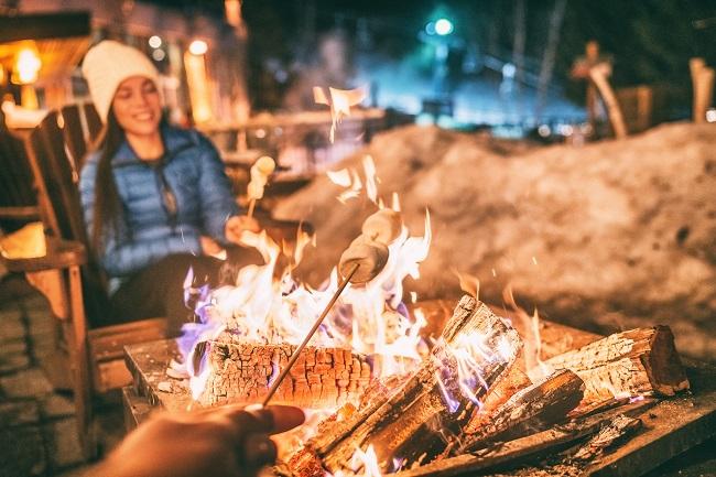 L'art de manger dehors en hiver