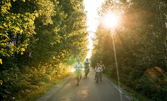 Parcourir les pistes cyclables de la Montérégie