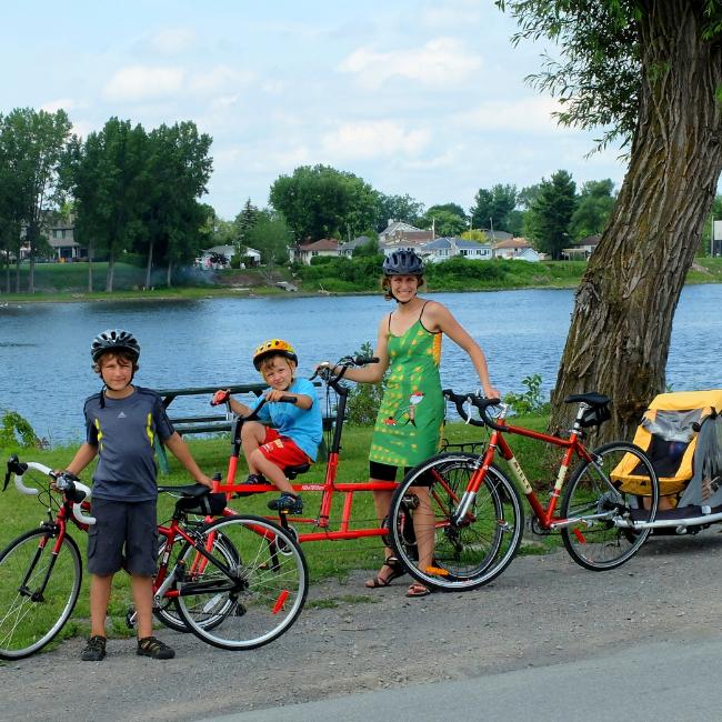 Decouvrez les pistes cyclables de Laval