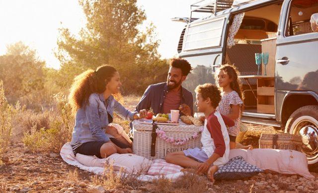 Van life et famille;