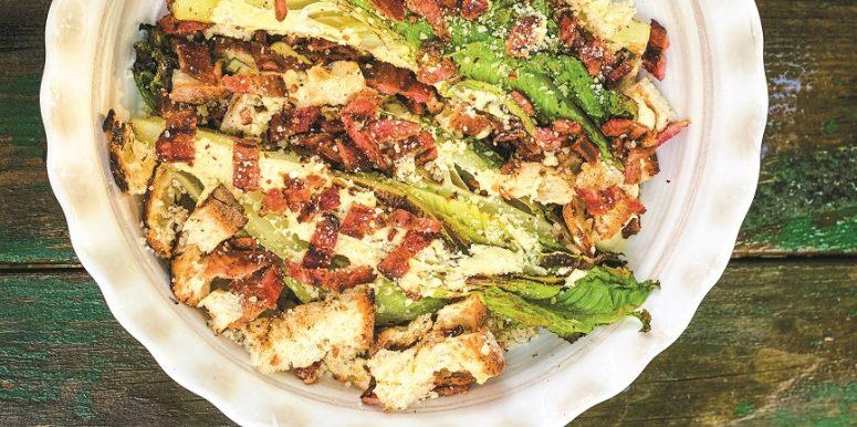 salade cesar grillee
